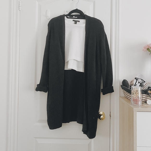 H&M Textured Knit Cardigan